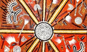 Authentic Aboriginal Desert Artwork